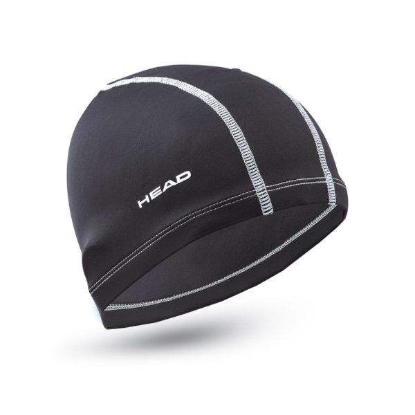 Cuffia nylon-spandex-black