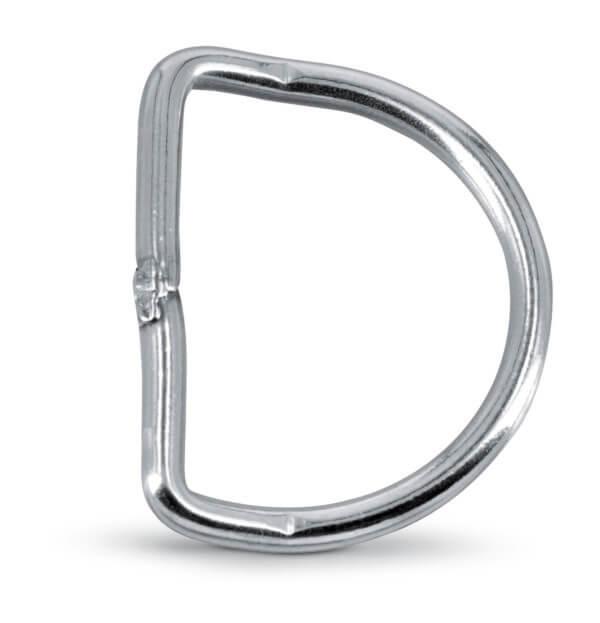 ANELLO A D 50 MM In acciaio INOX